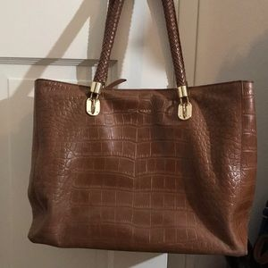 Cole Haan Brown Leather tote